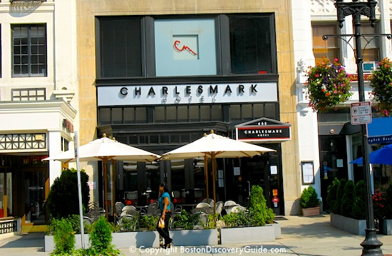 Charlesmark Hotel Boston photo - one of Boston's most popular inexpensive boutique hotels