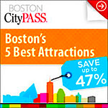 Boston CityPASS for up 50% savings on Boston attractions