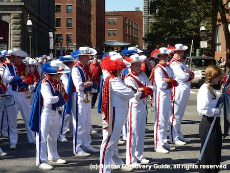 Spaulding High School Marching Band from Rochester, NH