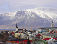 Reykjavik, Iceland is a Port of Call on cruises from Boston to Europe / www.boston-discovery-guide.com