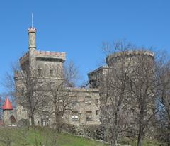 Brandeis University - Collegiate Gothic Style building