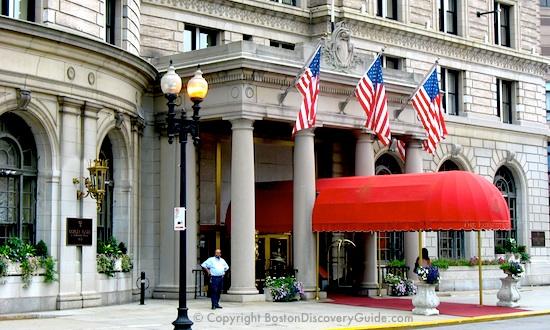 Fairmont Copley Plaza Boston Hotel In S Back Bay Neighborhood