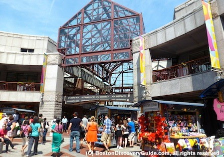 Faneuil Marketplace in Boston MA