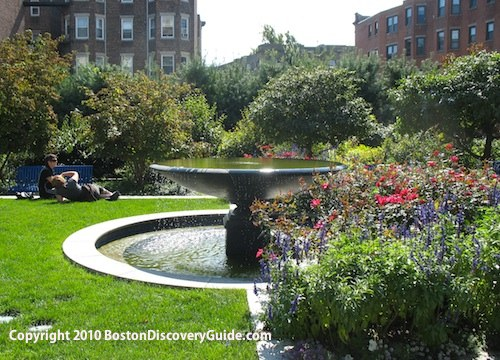 Ramler Park in Fenway, Boston