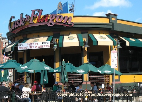 Photo of Cask 'n Flagon, one of many sports bars near Fenway Park in Boston