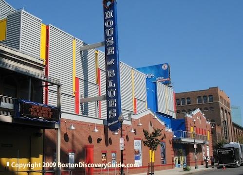 House of Blues in Fenway, Boston