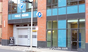 Fenway parking garage at 1330 Boylston St - Boston