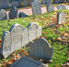 Copp's Hill Burial Ground - 18th century graves