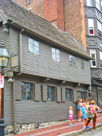 Paul Revere House in Boston's North End