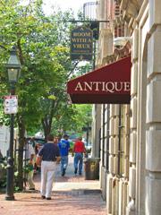 art galleries-Boston Beacon Hill neighborhood