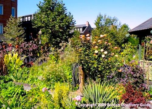 Rutland-Washington Community Garden in Boston's South End