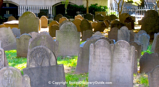 Halloween - Boston cemetery