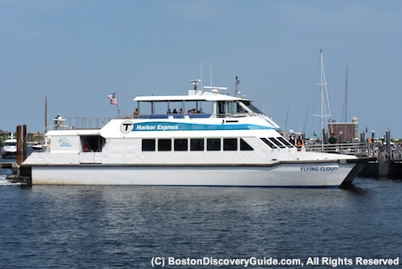 Boston Harbor Island Express boat