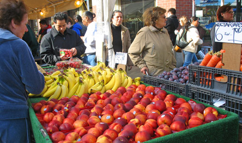 Haymarket Boston features lots of luscious produce