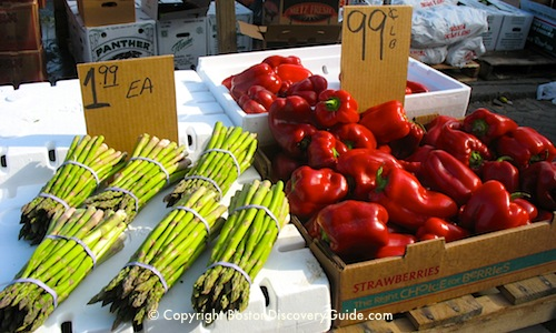 Photo - Fresh produce at Haymarket Boston