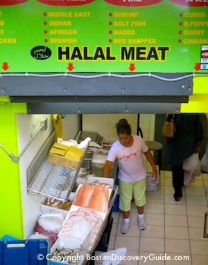 Halal Store at Haymarket in Boston