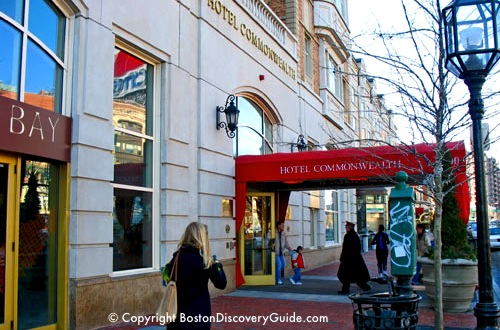 Hotel Commonwealth Luxury Boston Near Fenway Park