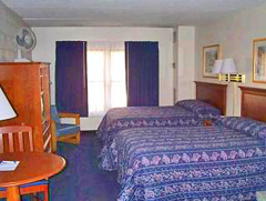 Constitution Inn room - Charlestown MA