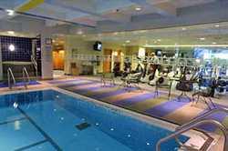 Hyatt Regency Hotel Boston - photo of indoor swimming pool and fitness center