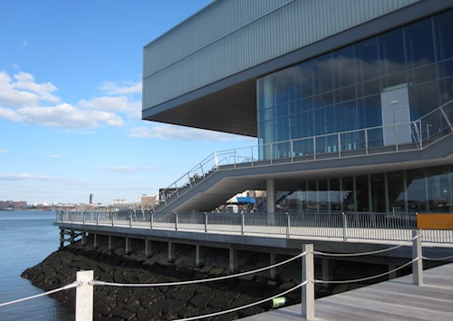Photo of Institute of Contemporary Art (ICA) in Boston / www.boston-discovery-guide.com