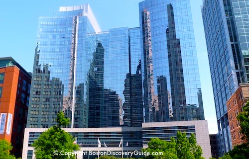 Find hotels in Boston's Financial District - photo of Intercontinental Hotel - Boston Discovery Guide
