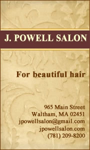 J. Powell Salon, Waltham, MA