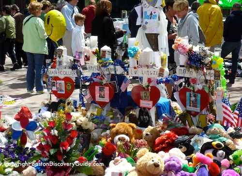 Boston Marathon Memorials