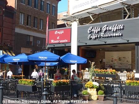 Boston S North End Italian Restaurants Festivals Paul Revere House Parades Attractions