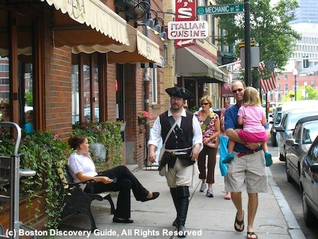 North End, Boston, MA - Costumed guide