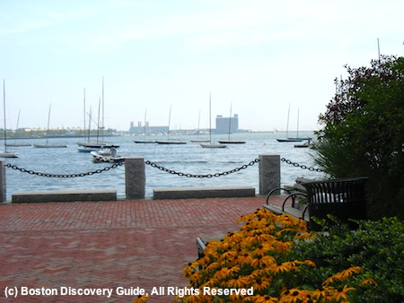 Views from Harborwalk, in Boston's North End