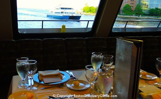 Boston skyline photographed during Odyssey cruise