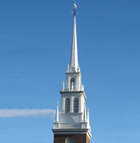 Old North Church in Boston's North End
