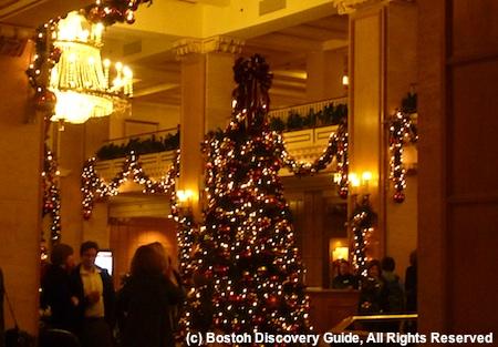 Photo of Park Plaza hotel dining area, Boston Massachusetts