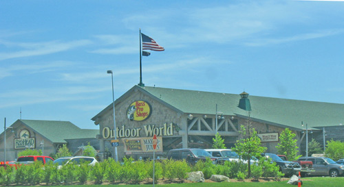 Photo - Bass Pro Shops in Patriot Place - shopping mall near Boston Mass