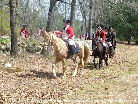 Patriots Day events for April 16 near Boston