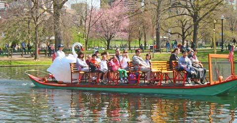 Public Garden swan boat