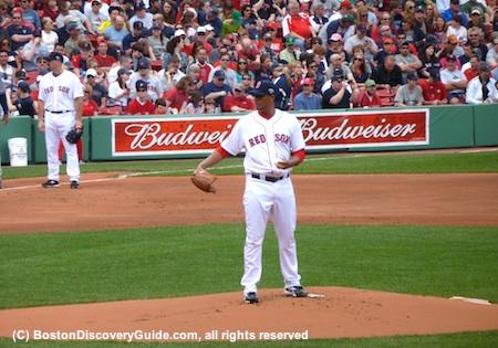 Adrian Gonzalez pitching