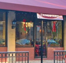 Canestaro's Restaurant and Pizzaria near Boston's Fenway Park serves classic Italian favorites