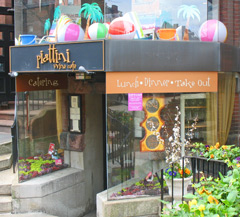 Piattini Wine Cafe in Boston's Back Bay neighborhood / Piattini - www.boston-discovery-guide.com