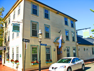 Warren Tavern, a historic Boston bar in Charlestown Massachusetts