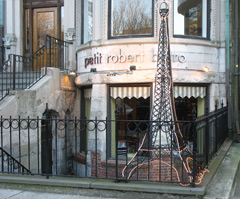 Petit Robert Bistro, supurb French restaurant on Commonwealth Avenue in Fenway neighborhood of Boston