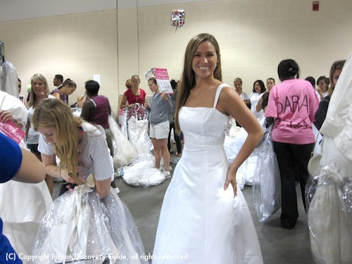 Photo of Boston's Running of the Brides - The perfect gown!