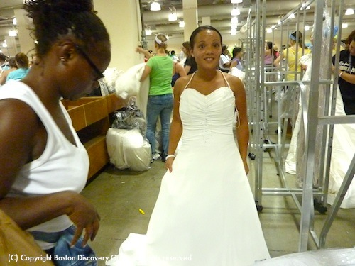 Running of the Brides - the perfect dress for a beautiful bride-to-be