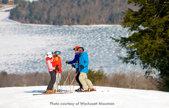 Wachusett Mountain ski slope / Massachusetts Ski Areas near Boston / www.boston-discovery-guide.com