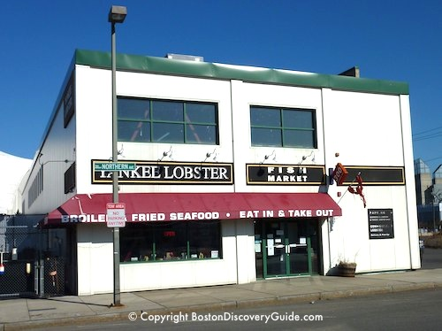 Yankee Lobster Restaurant in Boston