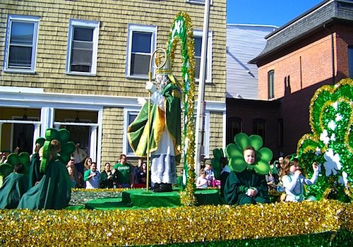 St Patricks Day Parade in South Boston