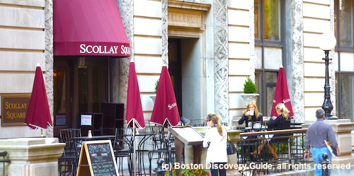 Scollay Square Restaurant's Patio Dining in  Beacon Hill / Historic Downtown Boston