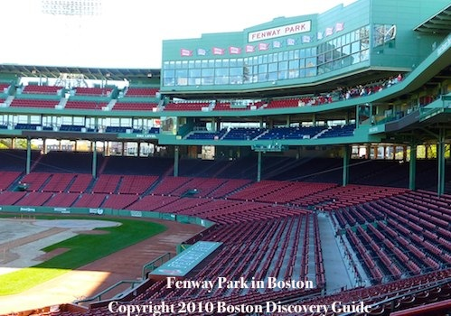 Photo of Fenway Park, top 10 attraction in Boston, Massachusetts