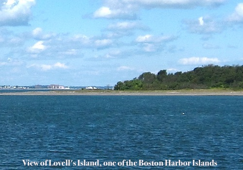 Photograph of Boston Harbor Islands