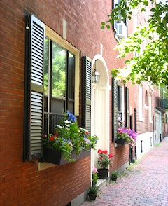 Photo of Boston's Freedom Trail - North End
